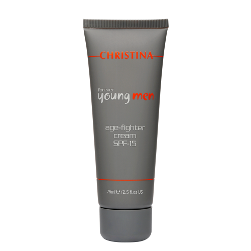Крем против старения c SPF 15, 75 мл (Forever Young Men Age-Fighter Cream SPF 15)